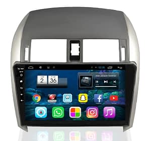autoradio android toyota corolla